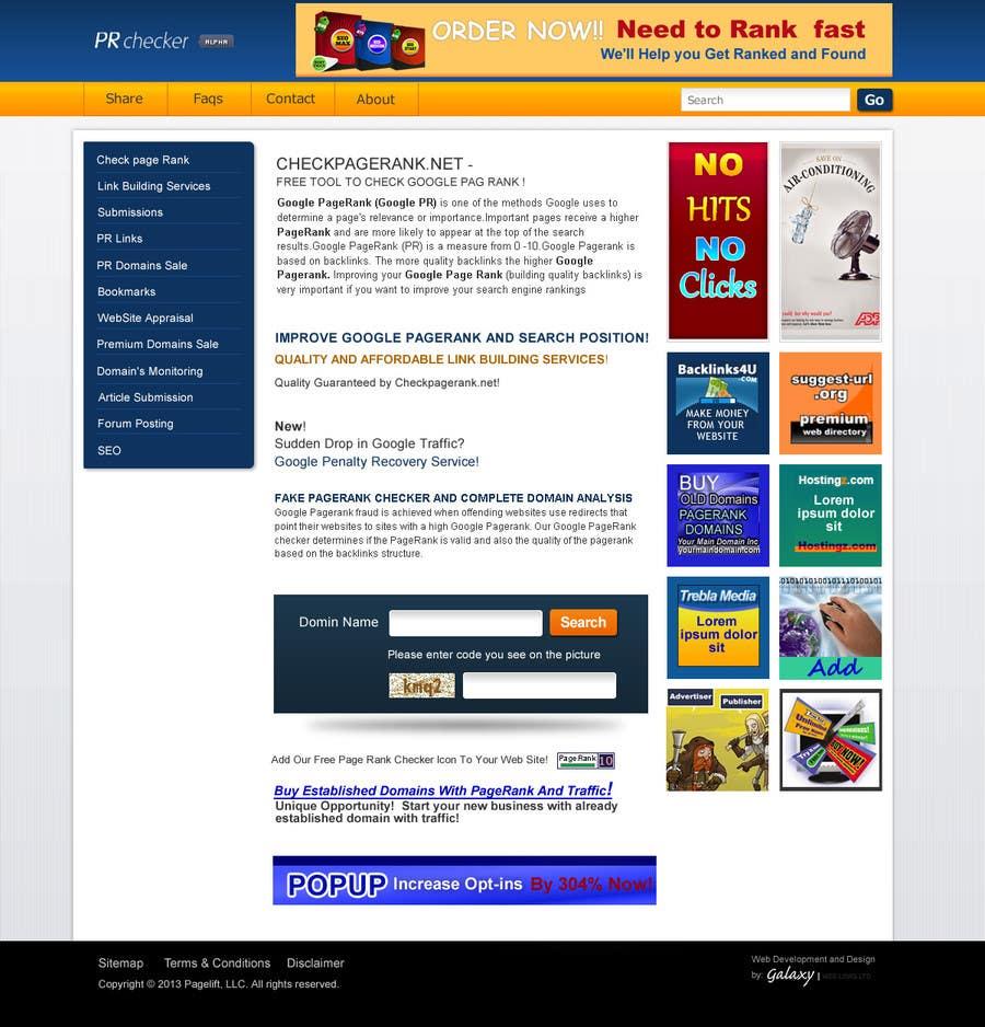 Contest Entry #20 for Website Design for SEO Website