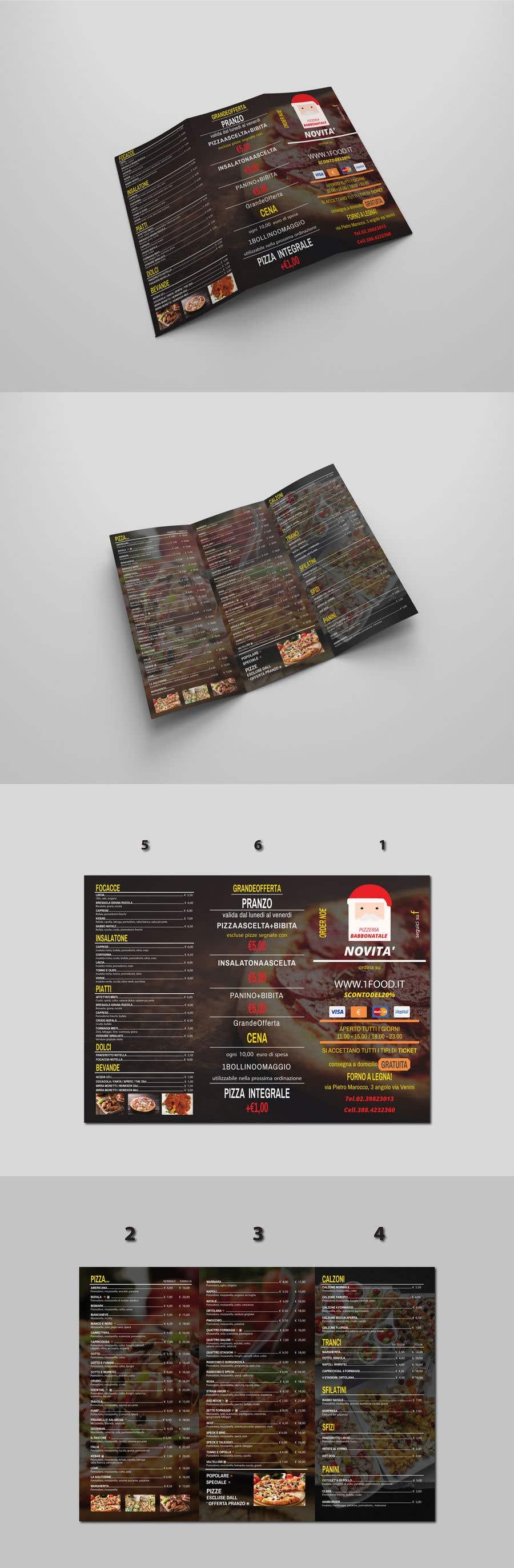 Konkurrenceindlæg #13 for flyer for restaurant