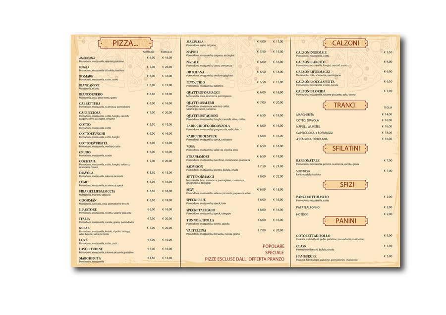 Konkurrenceindlæg #10 for flyer for restaurant