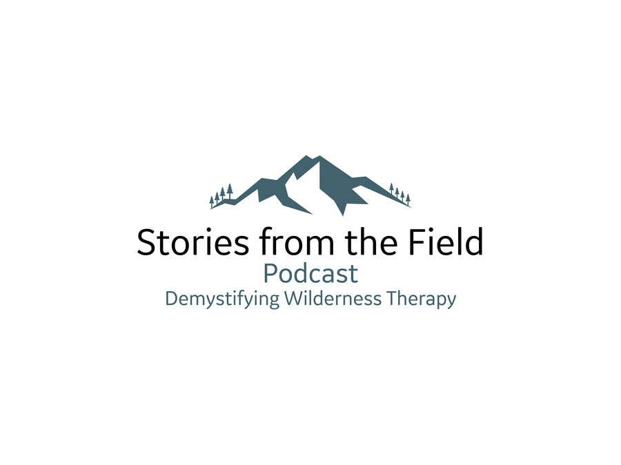 Konkurrenceindlæg #326 for design a logo for podcast Stories from the field: Demystifying Wilderness Therapy