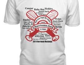 #27 untuk t-shirt design for baseball team oleh shuvashish7