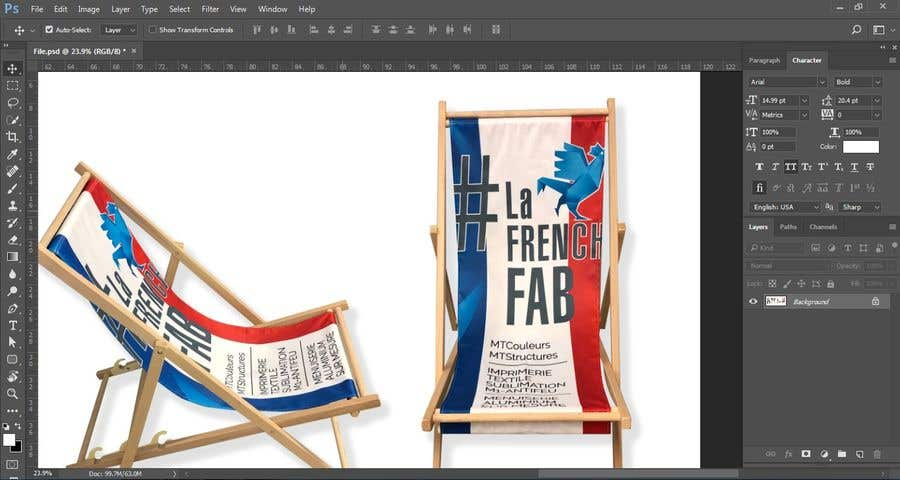 Crop these 4 pictures and assemblate them | Freelancer