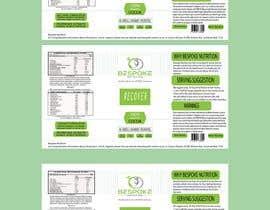 #27 para Bespoke Nutrition  Label Packaging Design por metaphor07