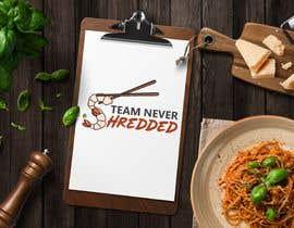 #8 untuk TEAM NEVER SHREDDED LOGO oleh bushidesigns