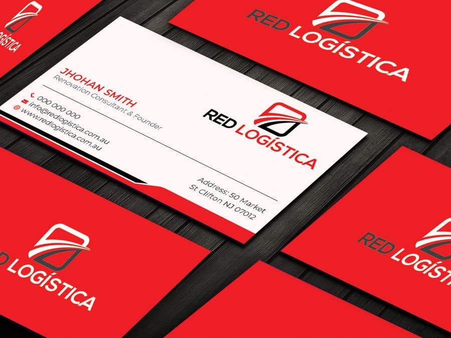 Contest Entry #103 for Bussiness Card Red Logistica