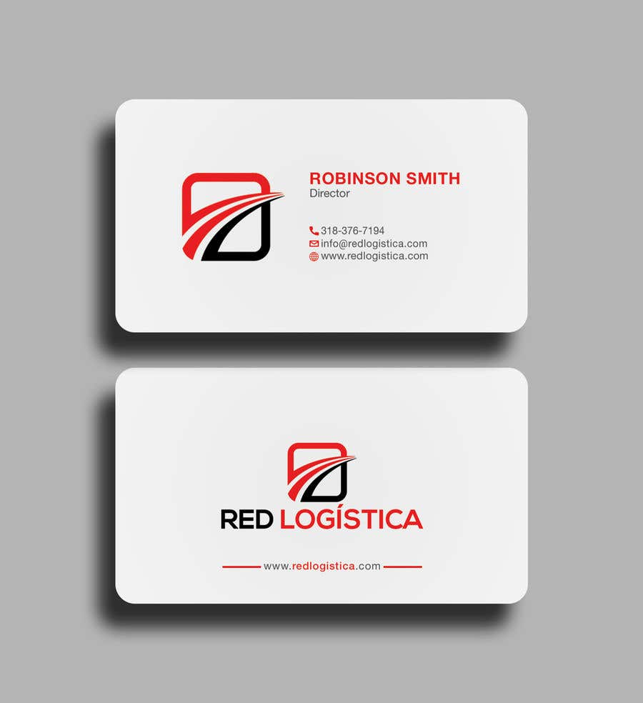 Contest Entry #108 for Bussiness Card Red Logistica