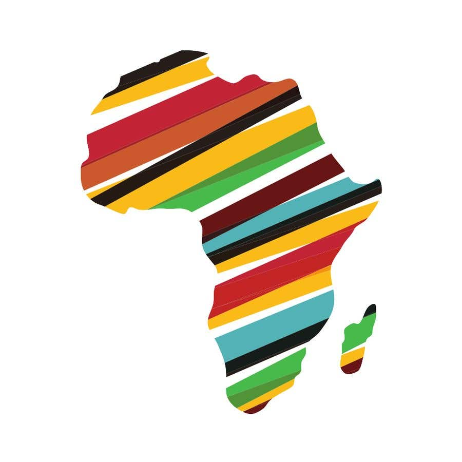 Proposition n°8 du concours A high quality Logo of Africa containing the colours red,gold and green
