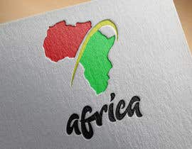 nº 19 pour A high quality Logo of Africa containing the colours red,gold and green par youcefpoko32