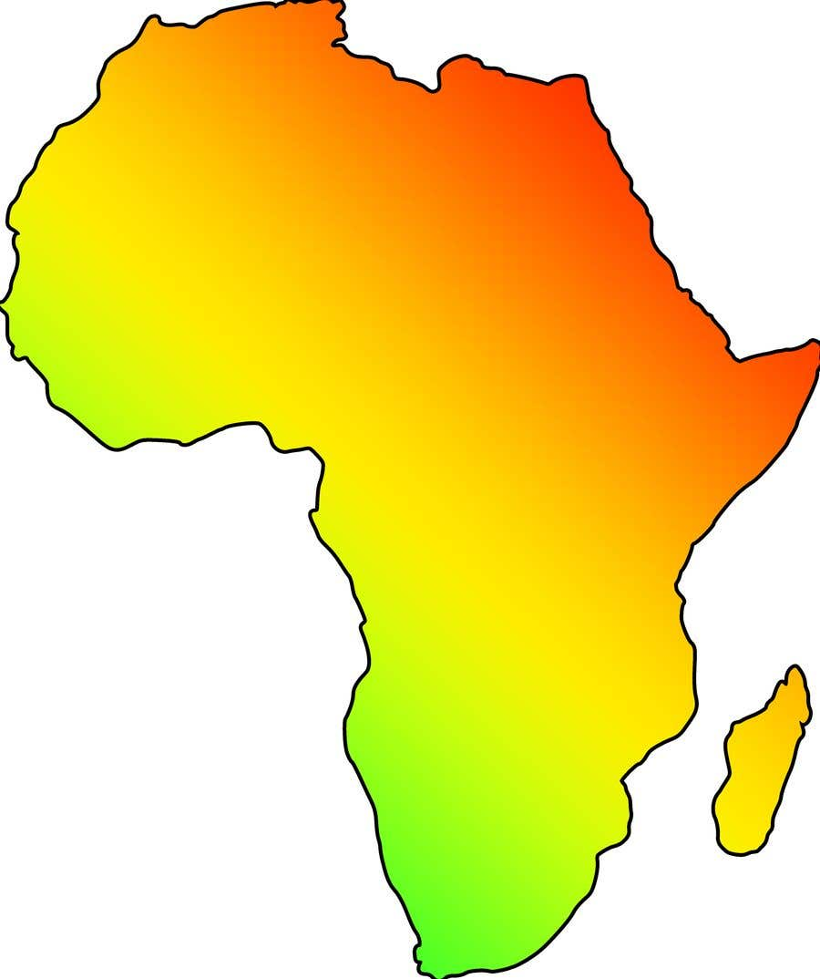 Proposition n°11 du concours A high quality Logo of Africa containing the colours red,gold and green