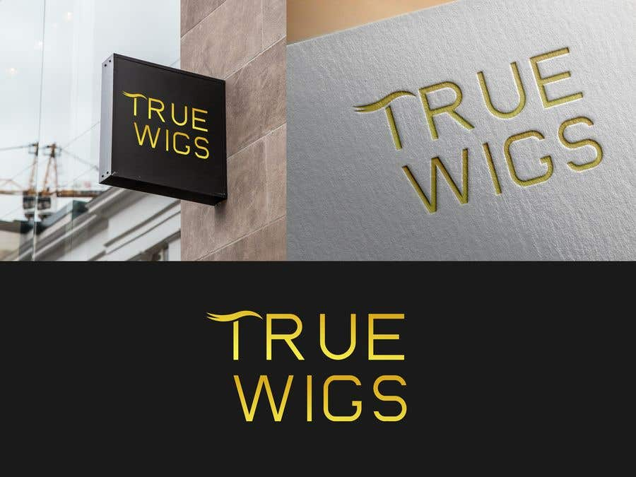 Contest Entry #6 for Wig company logo