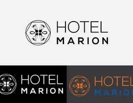 #385 for Modern logo for a boutique hotel. Named Hotel Marion by babualoksarkar