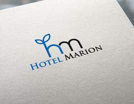 #378 pentru Modern logo for a boutique hotel. Named Hotel Marion de către BlueDesign727