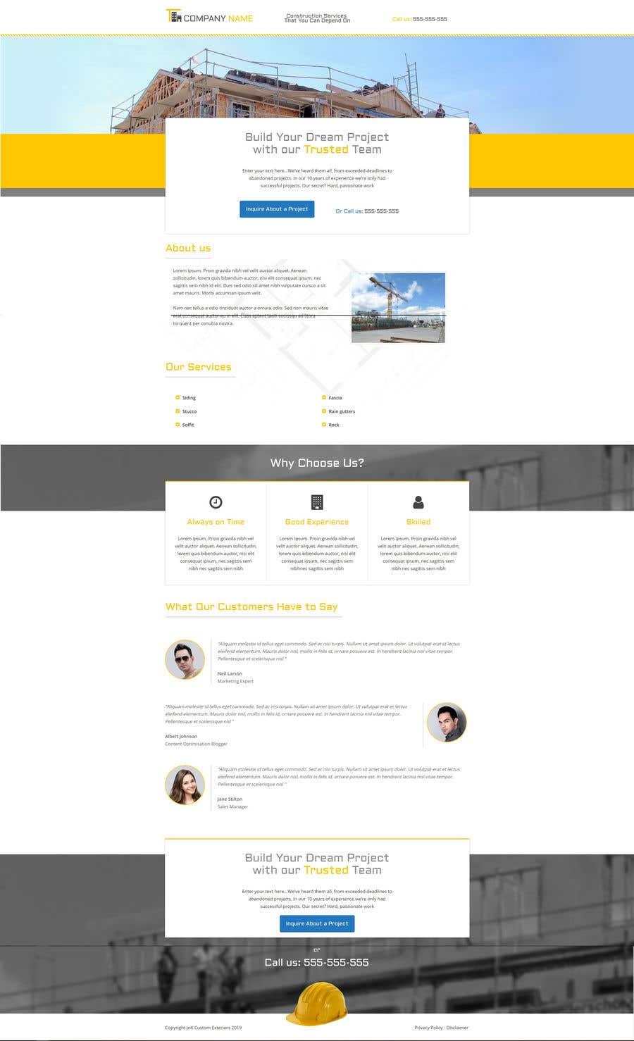 Kilpailutyö #10 kilpailussa Build me a website