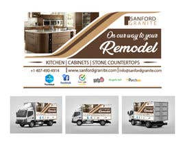 #21 para Vehicle Wrap Design for Kitchen Remodel por dilanronaldo