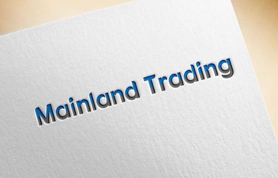 Penyertaan Peraduan #161 untuk Logo for new venture - A commodity trading business