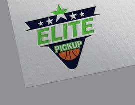 DIDAR42 tarafından Elite pickup basketball league logo için no 365