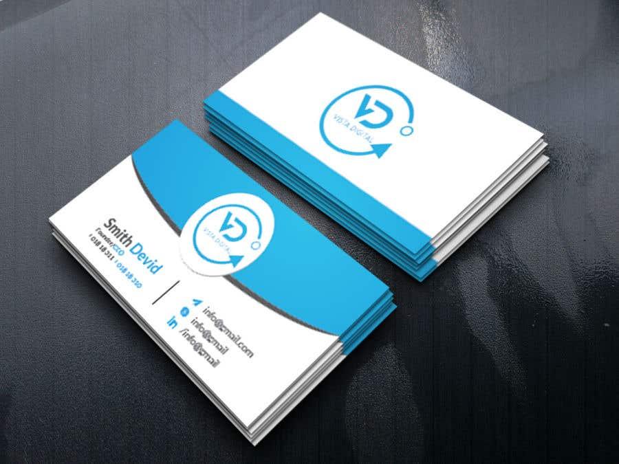 Contest Entry #140 for Design business cards for VistaDigital - Virtual tour specialists