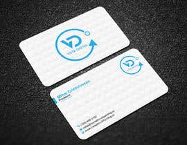 #128 for Design business cards for VistaDigital - Virtual tour specialists by ronyahmedspi69