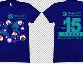 Nro 57 kilpailuun Design T-shirt both side käyttäjältä voltes098