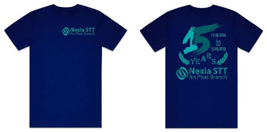 Конкурсная заявка №36 для Design T-shirt both side