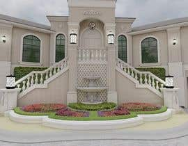 #24 untuk Design a nice entrance for my elevated 10 feet home and enhance the facade oleh ARVANZ