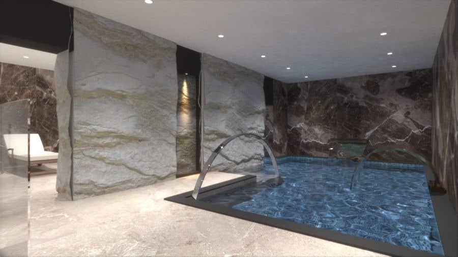 Конкурсная заявка №45 для 3D rendering for a Hotel's SPA