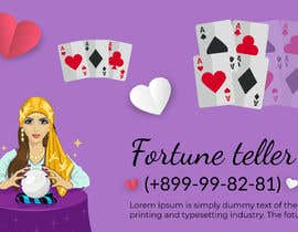 #5 cho Realize a banner and a picture with a custom fortune-teller and pulsing telephone numbers bởi AlMamun4772