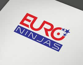#303 for Design Euro Ninjas Logo by Shuvomonisha