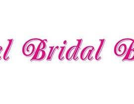 Nro 103 kilpailuun Bridal Boutique Name käyttäjältä AhmedGaber2001
