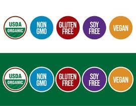 freelancerthebes tarafından create icons for my sales page e.g NON GMO, GLUTEN FREE, SUGAR FREE etc - 21/06/2019 06:47 EDT için no 14