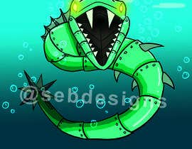 #10 cho RoboMonster Contest (5th Run) - Any water type robot bởi sebdesigns1022