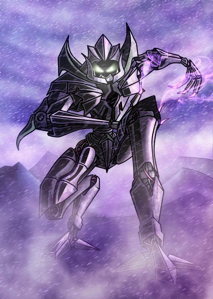 Bài tham dự cuộc thi #12 cho RoboMonster Contest (6th Run) - Any Darkness Type Robot