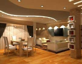 #19 for Elegant and Luxurious Interior 3D Rendering by sharif106