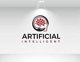 nº 125 pour Logo and Stationaries for IT company Called Artificil Intelligent par moonstarbdcom