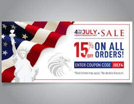#164 for 4th Of july banner by Vidyapathi