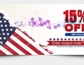 #176 pentru 4th Of july banner de către PixelDesign24