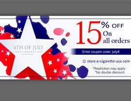 #160 for 4th Of july banner by sonugraphics01