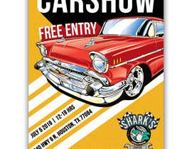 #29 para Design a poster and flyer for a Car Show por Hannahyan