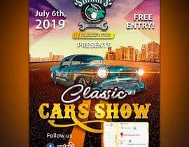 #32 para Design a poster and flyer for a Car Show por lunaticscreative