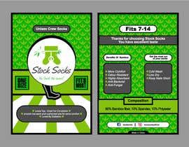 nº 22 pour Design a Hang Tag For Socks par mahfuz97
