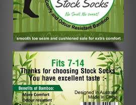 nº 12 pour Design a Hang Tag For Socks par sonugraphics01