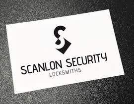 MarianoC9 tarafından Design a logo for my company 'Scanlon Security Locksmiths' için no 78