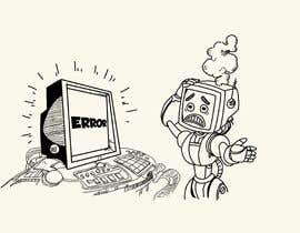 #30 untuk Robot scratching his head oleh berragzakariae