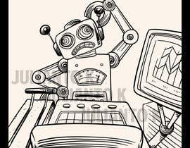 #16 untuk Robot scratching his head oleh juliantoK