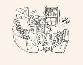 #15 untuk Robot scratching his head oleh oreosan