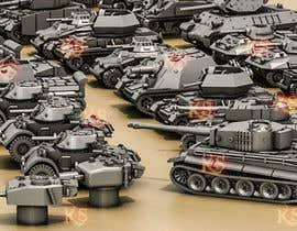#43 для Render 3D tank files into metal texture от azeemkiyani786