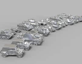 #29 для Render 3D tank files into metal texture от adnan47911