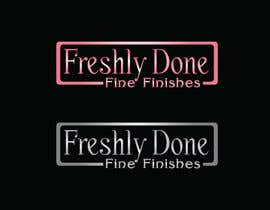 #122 cho New Logo for a new business Freshly Done Fine Finishes bởi skriyadul3690