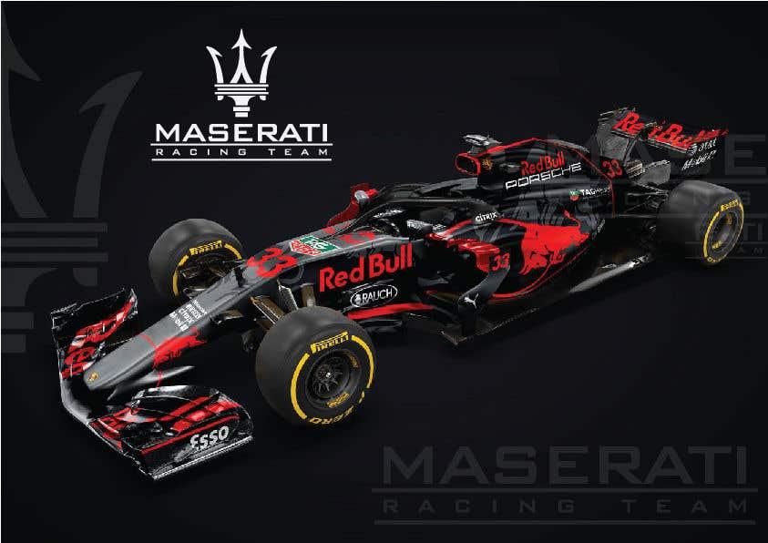 Kilpailutyö #9 kilpailussa Maserati Racing Team - Corporate Identity