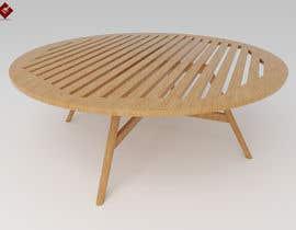 nº 26 pour Design and 3D Render a lounge table par clintzmeji